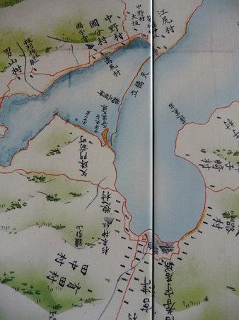 090602-伊能図 日本三景 (3)