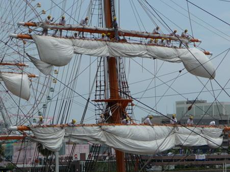 090720-日本丸 総帆展帆 (55)