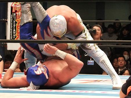 新日本プロレス CMLL 後楽園ホール 20110123 (9)