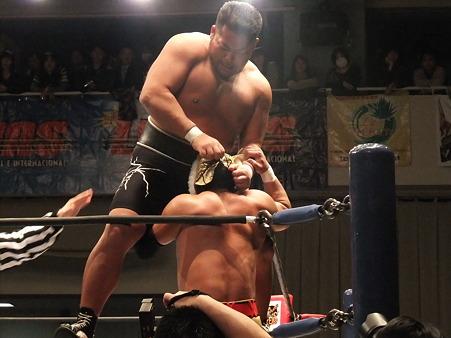 新日本プロレス CMLL 後楽園ホール 20110123 (2)