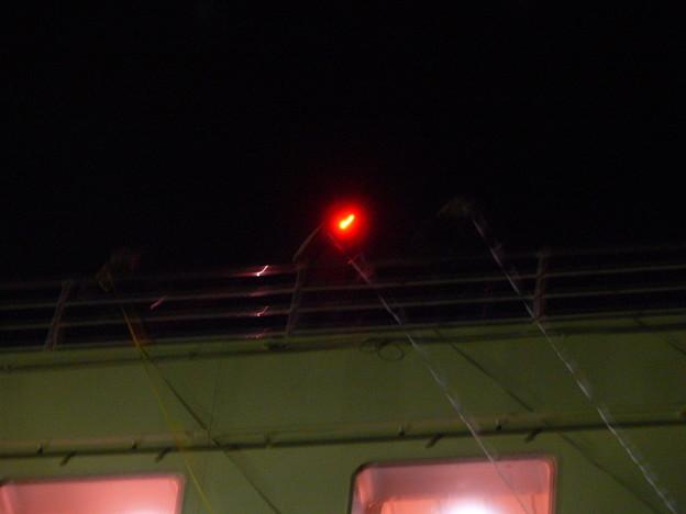 写真: 甲板から