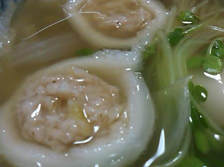 もちもち団子のスープ