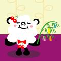 念願のパンダモフ