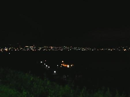 諏訪湖SAからの夜景