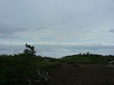 前森山山頂から見た雲海2