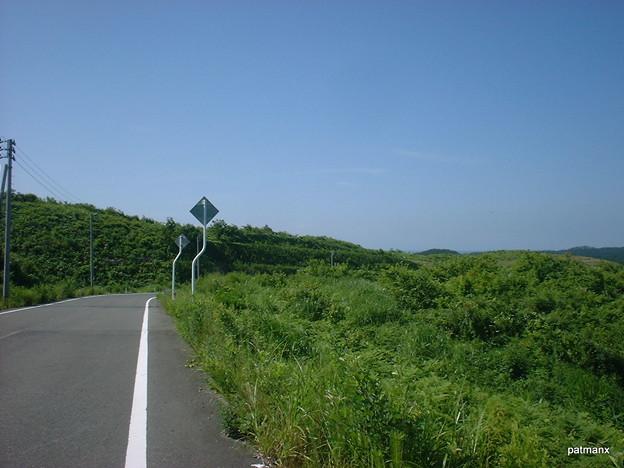 【北部上北広域農道】無線中継所付近からの風景