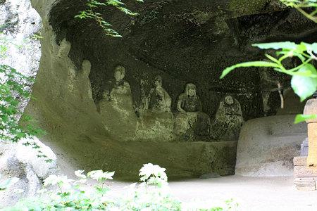 2009.05.25 北鎌倉 明月院 羅漢洞 十六羅漢