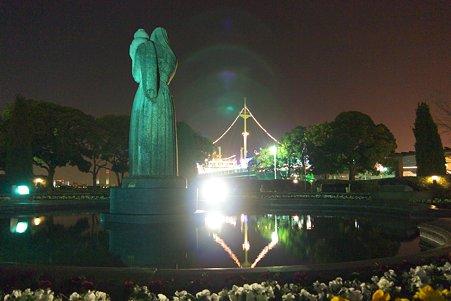 2011.01.15 山下公園 水の守護神