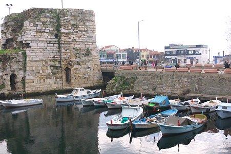 2011.01.22 トルコ ゲリボル 港の遺跡