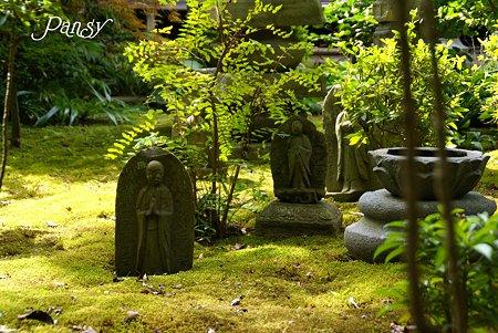 石仏群の庭・・