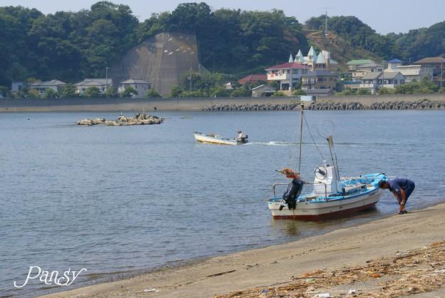漁村にて・・