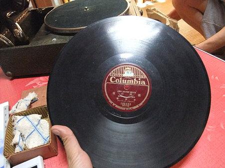 分厚いレコード盤