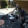 Photos: お庭で休憩