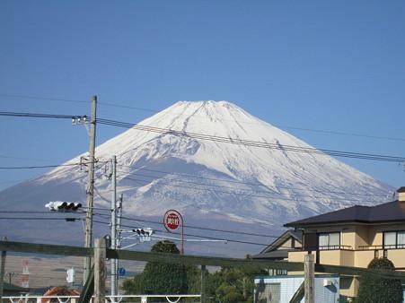 御殿場から見る富士山