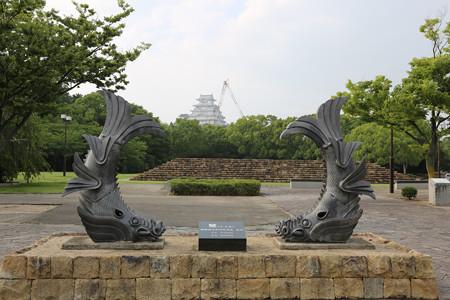 城見台公園から姫路城 - 1