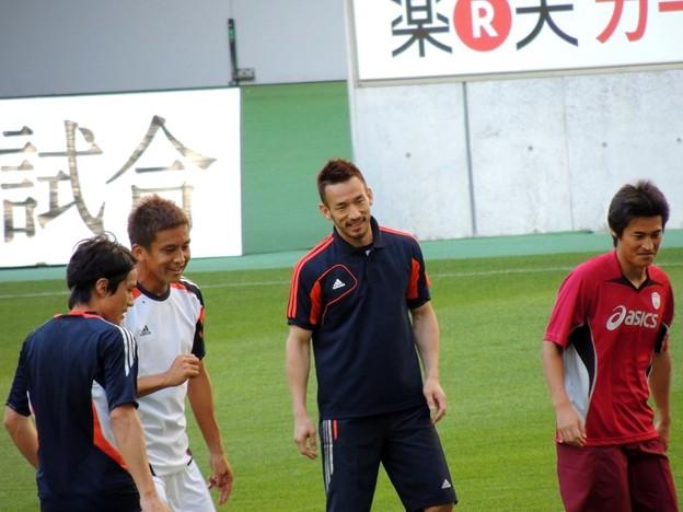 元日本代表の皆さん、楽しそうでした