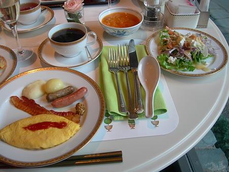 ホテルオークラ東京 テラスレストラン 朝食