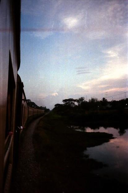 Thailand / タイ、車窓風景