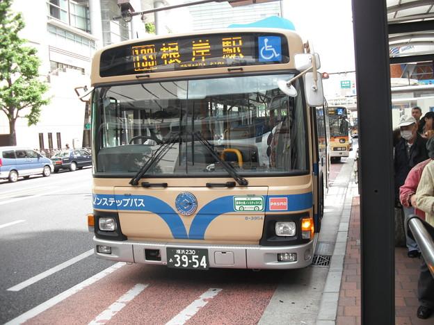 横浜市営8-3954号車