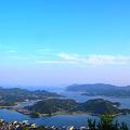 鳴滝山遠望 in 瀬戸内海