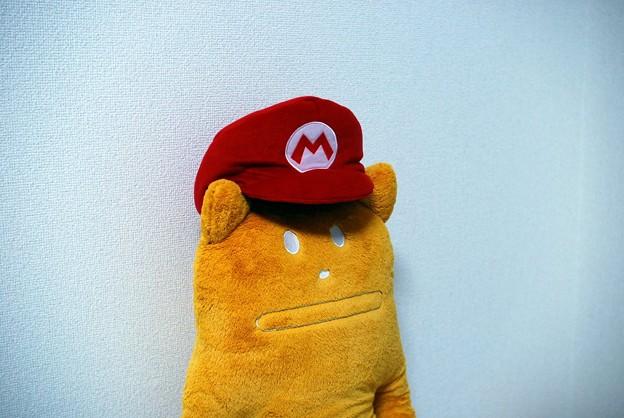 写真: マリオの帽子
