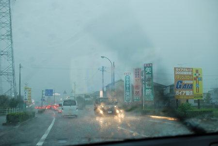 徳島の豪雨