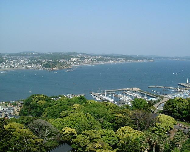 江の島展望灯台からの眺め(北側)(sightseeing/0037)