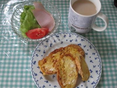 9月18日の朝食