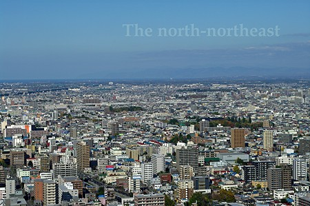 Sapporo the north northeast