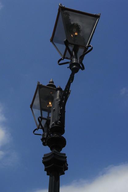 街灯マニア■東京ガス門前のガス灯