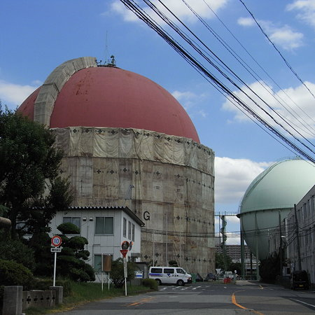 東京ガスガスタンク (2)