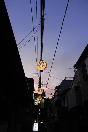 千住本氷川神社の祭礼