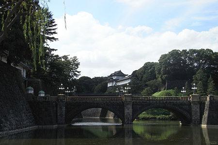 秋の空、二重橋