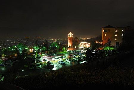 笛吹川フルーツ公園夜景