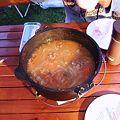 写真: トマトスープ(ボルシチ風)