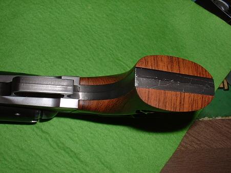 タイトー 大人プライス銀河鉄道999「戦士の銃 コスモドラグーン」 グリップ下側からDoburoku-TAO
