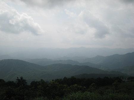 掛頭山山頂からの眺望