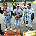 Photos: CIMG1448:決勝でのHR賞は 赤い野菜