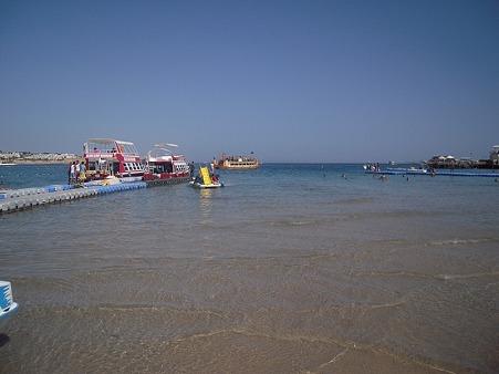 シャルム・ッシェーフのビーチ