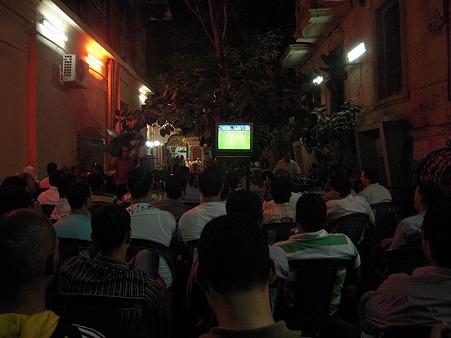 ストリートで見るサッカー