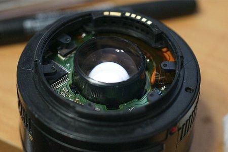 EF 50mm F1.8 II 分解